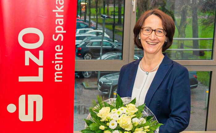 Tanja-Vera Asmussen, Vorstandsmitglied der Landessparkasse zu Oldenburg