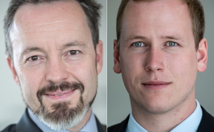 Frank Dornseifer (l.) und Sven Gralla vom Bundesverband Alternativer Investments