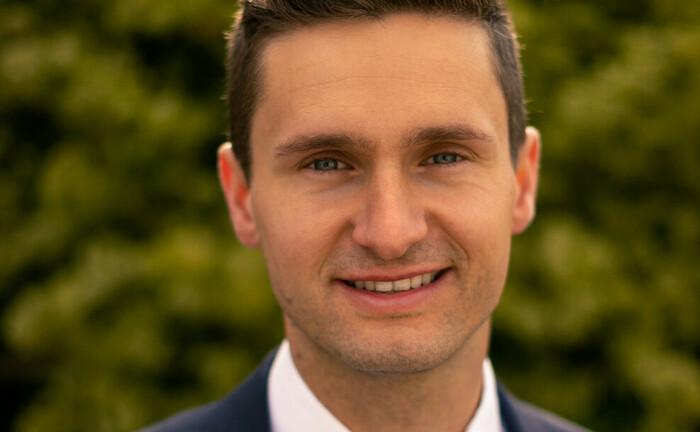 Benjamin Binzer, seit 2018 im Vertrieb der DWS tätig