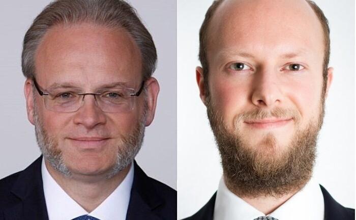 Jörgchristian Klette (l.) und und Daniel Schüttpelz, Steuerberater der Einheit Private Client Services der Wirtschaftsprüfungsgesellschaft EY