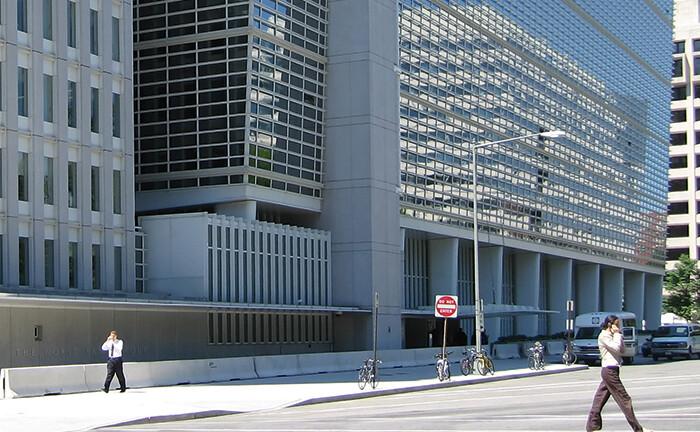Sitz der International Bank for Reconstruction and Development in Washington D.C.