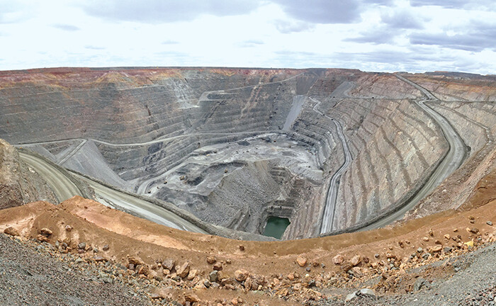 Goldmine in Australien