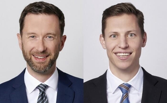 Lukas Riesen (l.) und Marc Staub von der Schweizer Beratungsgesellschaft PPC Metrics