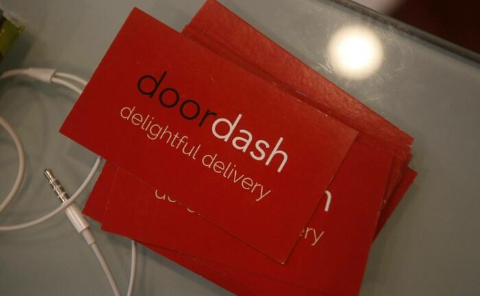 Visitenkarten von Doordash