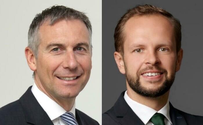 Vorstandsschef Dirk Rüttgers (li.) und Portfoliomanager David Wehner von Do Investment
