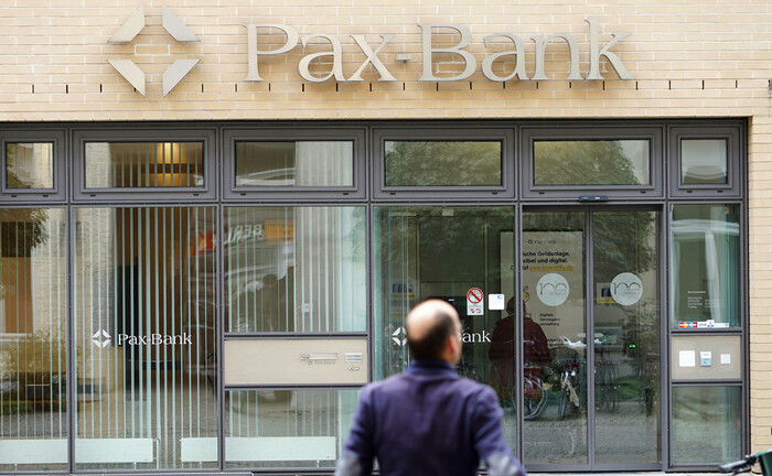 Filliale der Pax-Bank in Berlin