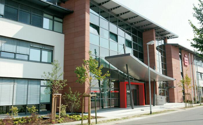 Zentrale in Landau, Firmensitz der neuen Sparkasse Südpfalz