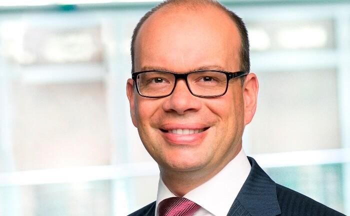 Frank Stefes, Leiter des institutionellen Geschäfts bei State Street Global Advisors