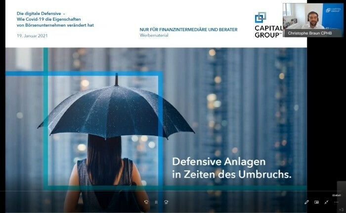 "Screenshot aus der Master Class ""Die digitale Defensive"""
