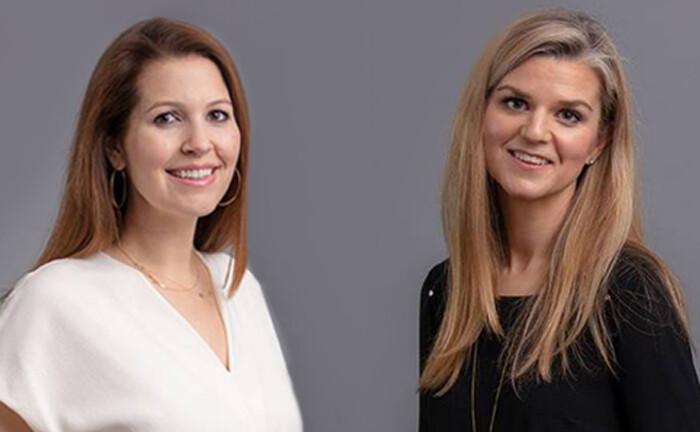 Louise Smith und Kee Rabb (r.), verantwortlich für den Bereich Private Equity bei PA Capital, US-Partnergesellschaft von Candriam.