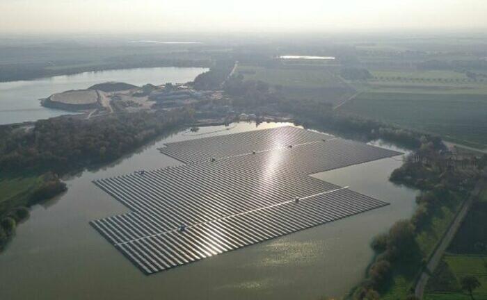 Schwimmende Solaranlagen in den Niederlanden