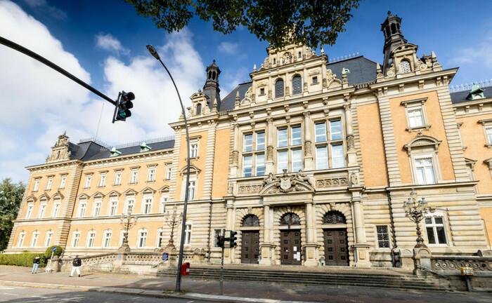Strafjustizgebäude des Landgericht Hamburg am Sievekingplatz 3