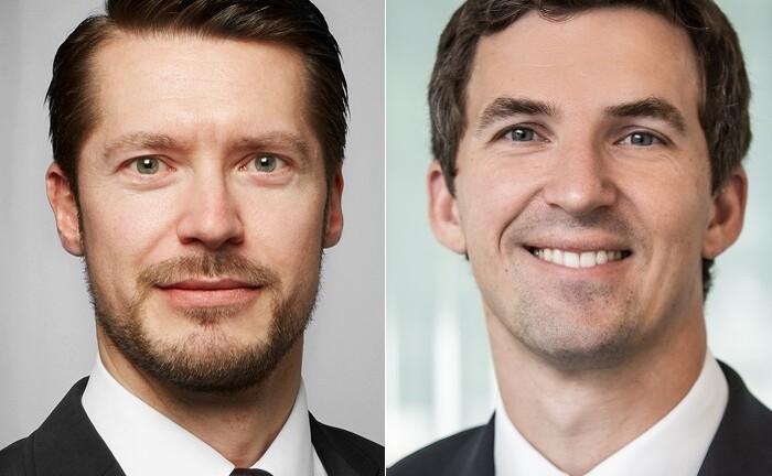 Michael Walich (l.) und Dirk Zurwonne haben sich der Hypovereinsbank angeschlossen