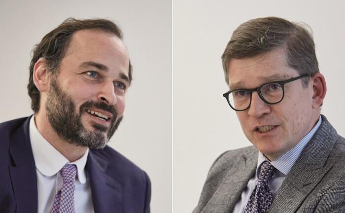 Christian Neuhaus (li.) und Torsten Murke vom Finvia Family Office