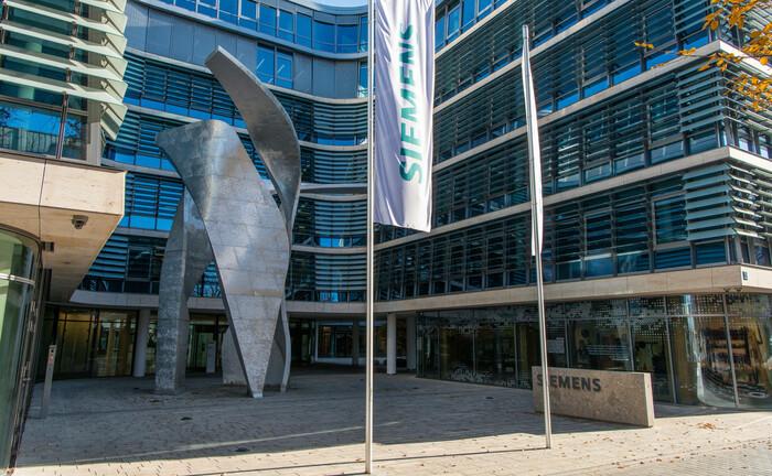 Zentrale des Siemens-Konzerns in München: Im Bereich Pensions übernimmt Jürgen Euba mehr Verantwortung|© Imago Images / Eibner