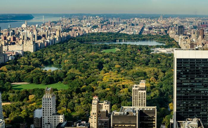 "Der Central Park, die ""grüne Lunge"" New Yorks"