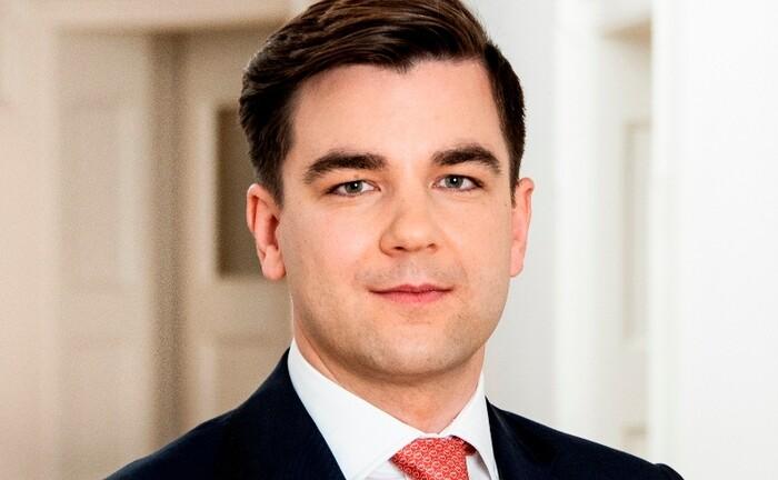 Philipp Doppelhammer, Mitglied der Geschäftsleitung beim Bankhaus von der Heydt