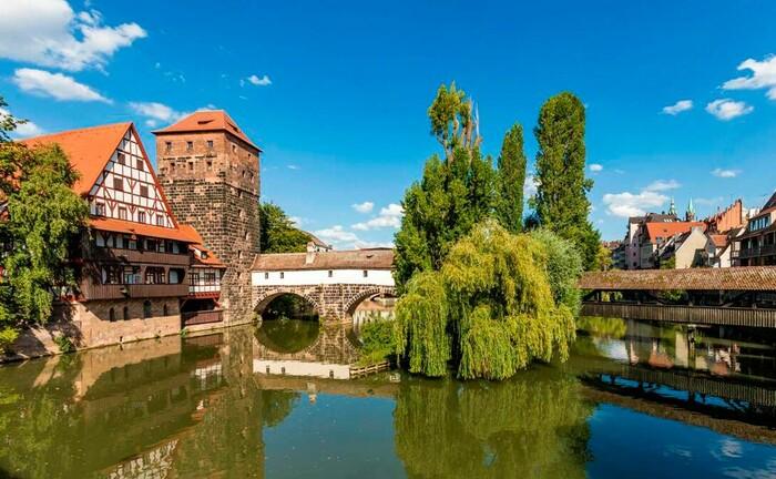 Nürnberg an der Pegnitz