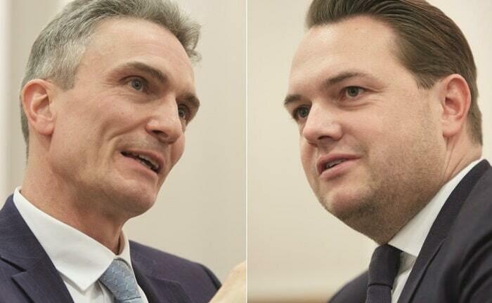 Markus Korfmacher (li.) und Sven Karkossa von der Capitell Vermögens-Management
