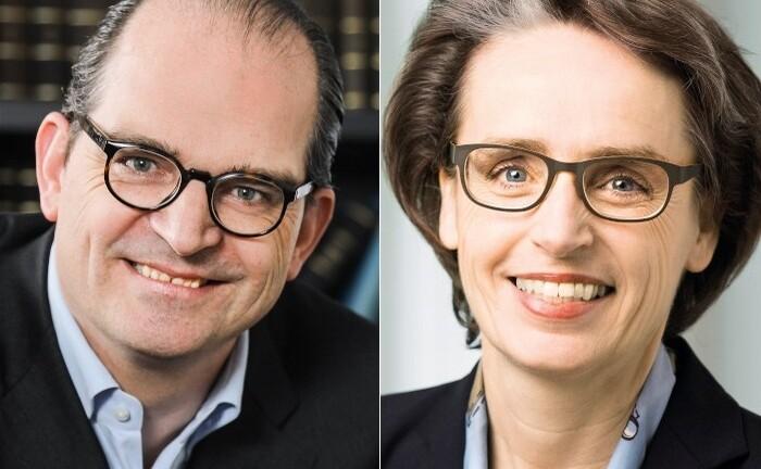 Dr. Karin Ebel und Prof. Dr. Maximilian Werkmüller von der Peter May FB Consulting