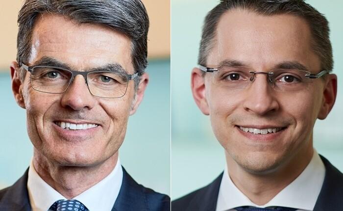 Daniel Bertele (r.) und Marc Dellmann rücken neu in den Vorstand der Munich Private Equity (MPE) auf: Dellmann arbeitete zuvor bei UBS AM, Bertele war bereits beim Emissionshaus der Gruppe an Bord.|© MPE