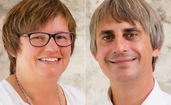 Sonja-Verena Müller und Sven M. Schäffner, Geschäftsführer der Corfactum Group