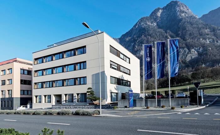 Zentrale der Bank Frick im liechtensteinischen Balzers: Die Privatbank ist wieder vollständig in Besitz der gleichnamigen Familie.|© Bank Frick