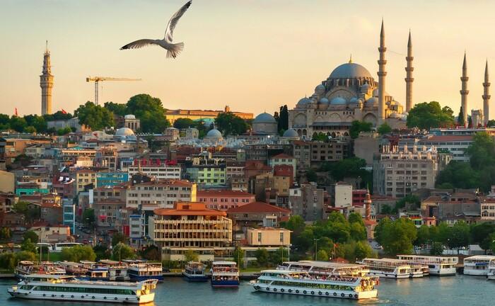 Die türkische Metropole Istanbul