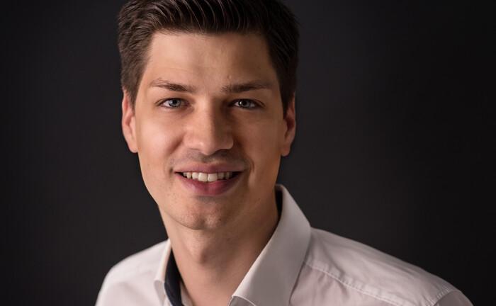 Mark Seeber vom Regtech-Unternehmen Infront Quant
