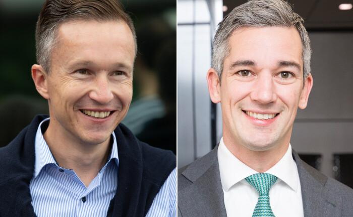 Matthias Hübner (li.), Daniel Klier: Arabesque hat zwei neue Mitarbeiter eingestellt.|© Oliver Wyman/ Riehl Art Picture, Arabesque