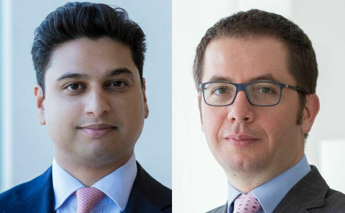 Fondsmanager Shaniel Ramjee (links) und Marco Piersimoni