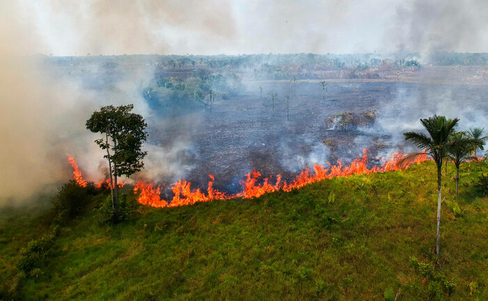 Waldbrände bei der Kleinstadt Lábrea im südlichen Amazonas