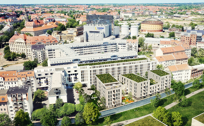 "Quartier ""Future Living"" in Leipzig"
