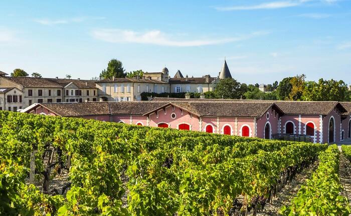 Château Lafite Rothschild in der Gironde