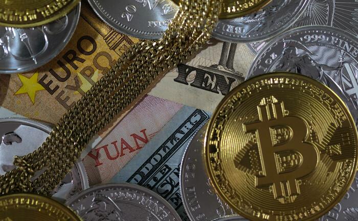 Der Bitcoin ist unter allen Währungen der Neuling