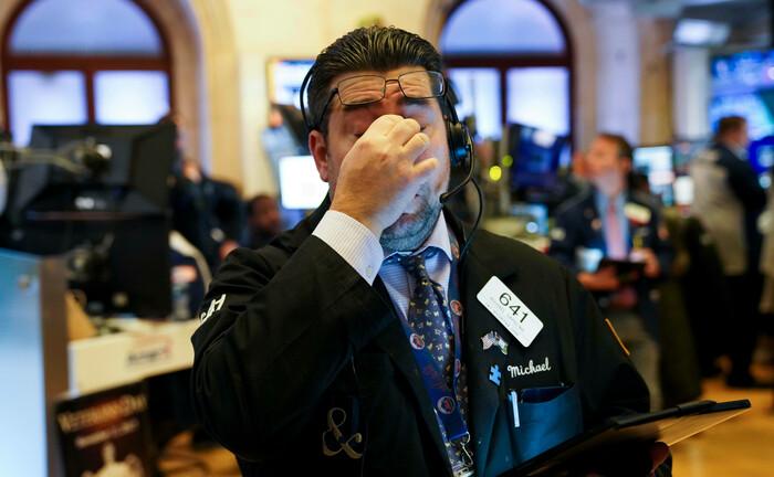 Händler der New Yorker Börse: Die steigenden Zinsen der US-Staatsanleihen beherrschen derzeit die Aktienmärkte. |© IMAGO / Xinhua