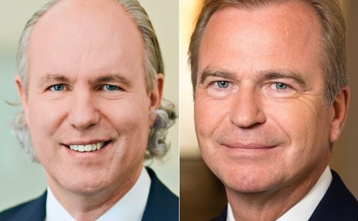 Christoph Lieber (l.) ist Chef und Jens Hagemann designierter Verwaltungsratspräsident von Cinerius Financial Partner.