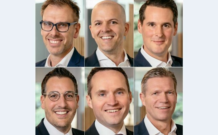 Führungskräfte im Private Banking der Volksbank Münsterland Nord