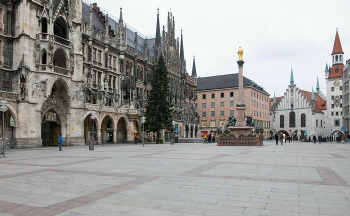 Marienplatz in München