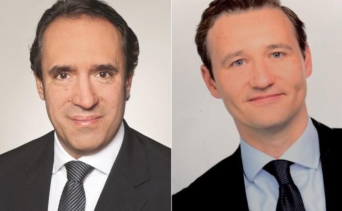 Sven Oberle (li.) und Meik Kranz von EY: Die beiden Steuerexperten ordnen die neuen Regeln für die Verlustverrechnung bei Kapitaleinkünften ein