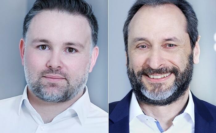 Martin Greweldinger (l.) und Thomas Beck, ab April die neuen Co-Chefs von Avaloq