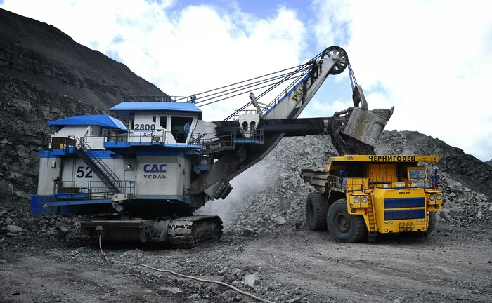 Kohleabbau in Russland: Investoren wollen weg von dem Rohstoff.|© Imago Images / Itar Tass