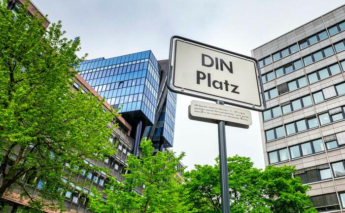 Gebäude des DIN-Instituts in Berlin