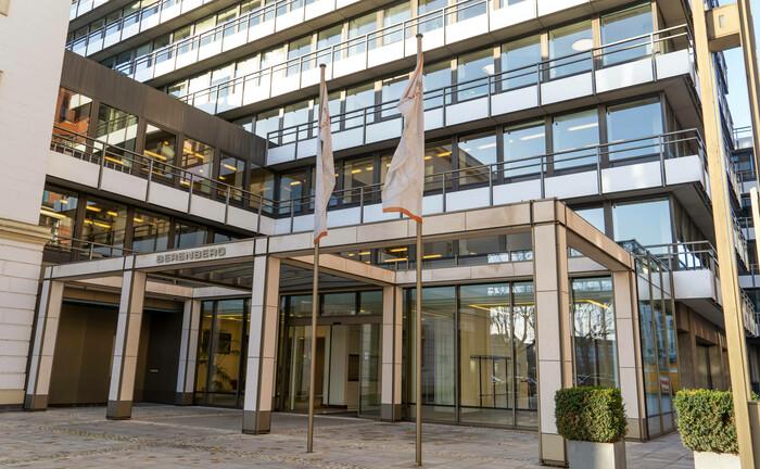 Die Berenberg Bank in Hamburg