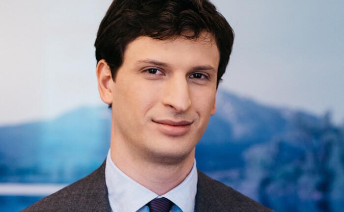 Louis Kahane arbeitet seit 2020 bei der Bank Gutmann