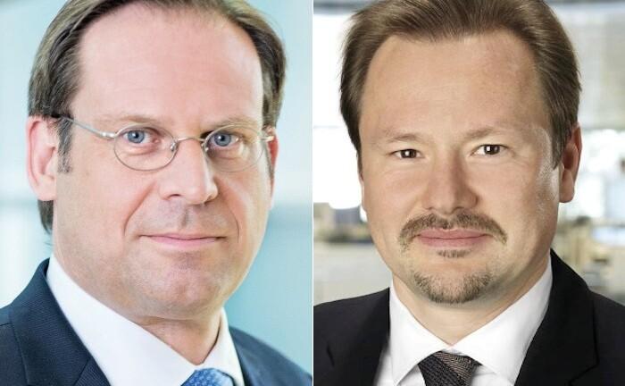 Daniel Kalczynski (l.) und Thorsten Weinelt