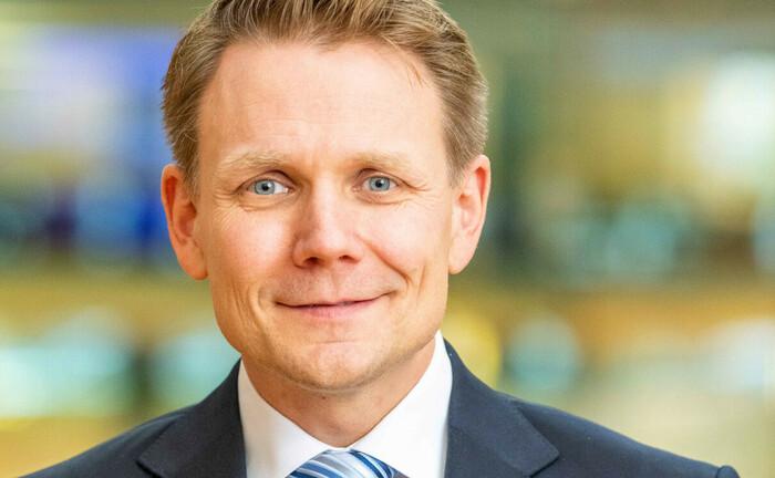 Peter Moll, Vorstandsmitglied der Förde Sparkasse