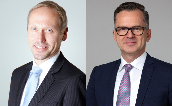 Christian Storck (li.) und Hauke Brede
