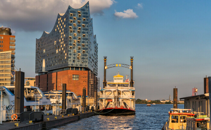Elbphilharmonie, Wahrzeichen der Hansestadt Hamburg