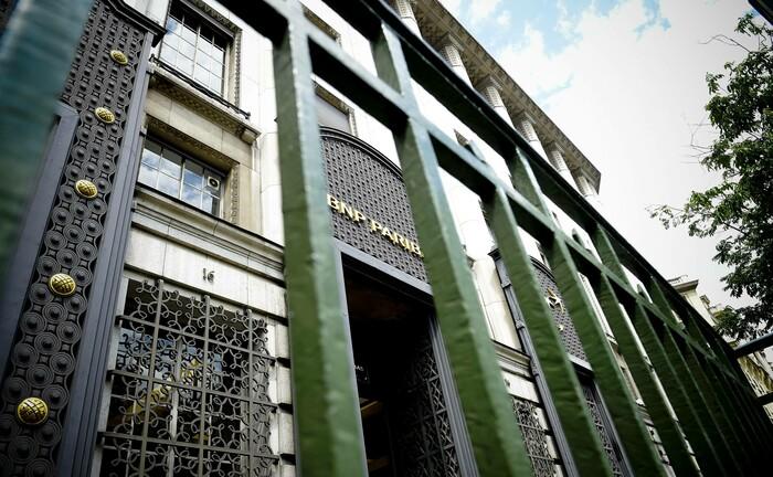 Die Zentrale der BNP Paribas in Paris
